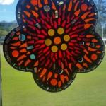 mosaic flower